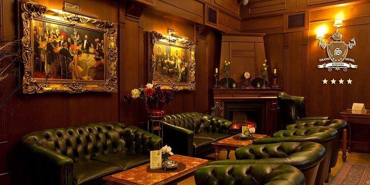 Luxusné romantické pobyty v exkluzívnom Hoteli SERGIJO**** v kúpeľnom meste Piešťany. Teraz super cena pre jesenné pobyty do 20.12.2015!