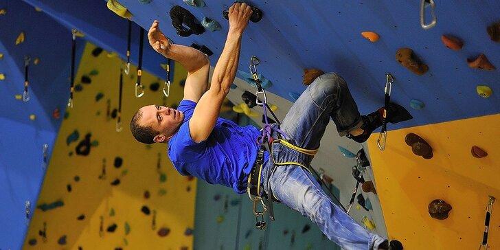 2 hod. kurz lezenia pre začiatočníkov alebo pokročilých s inštruktorom a možnosťou 3 celodenných vstupov