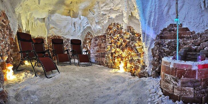 Vstupy do soľnej jaskyne, dieťa do 15 rokov grátis