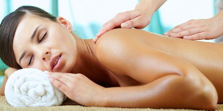 Hodinová masáž celého tela v Hoteli Bratislava pre jedného či dvoch