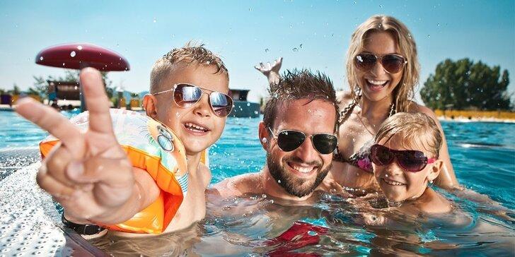 Celodenné rodinné vstupné do Aqualandu Moravia