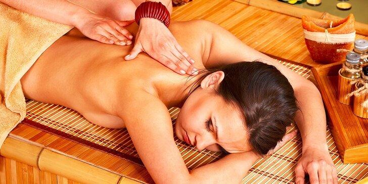 Balíček exotických procedúr priamo z Thajska