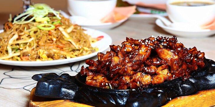 Ázijské degustačné menu pre dvoch v Asian Restaurant Sunshine v Auparku