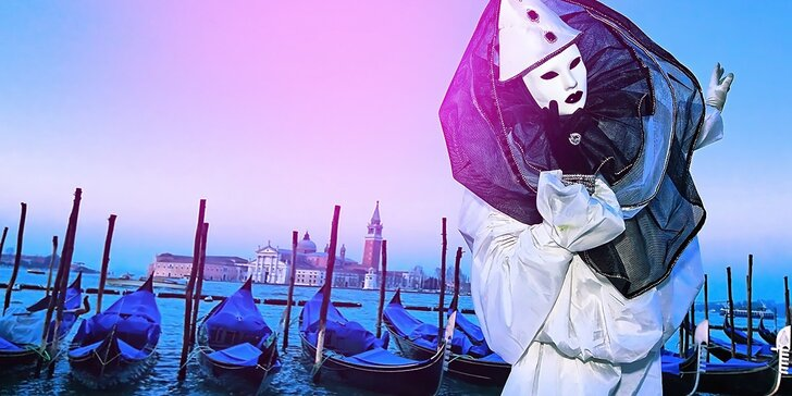 Benátky ako ich nepoznáte – fašiangová atmosféra a masky v uliciach