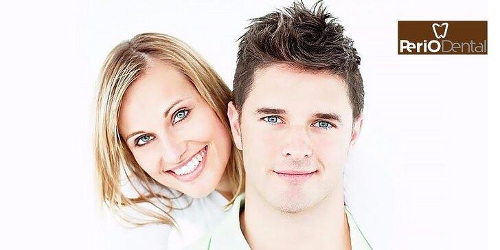 Dentálna hygiena, pieskovanie a šetrné bielenie