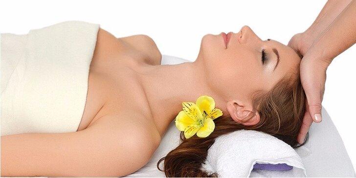 Ošetrenie pleti, wellness masáž tváre a dekoltu v trvaní 60 minút