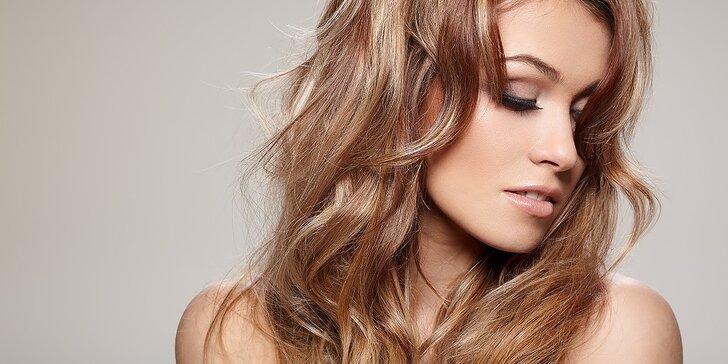 Pánske alebo dámske strihanie vlasov s možnosťou farbenia