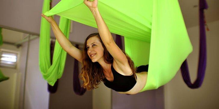 """""""Zalietajte"""" si pri cvičení Fly Fit alebo Fly Yoga"""