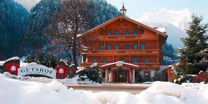 Aktívna lyžiarska dovolenka v Tirolsku na 3, 4 alebo 6 dní pre dvoch nabitá službami