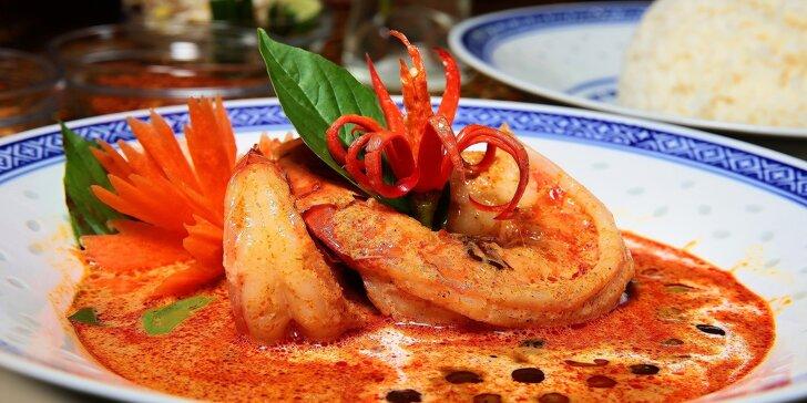 Thajské špeciality v originálnej thajskej reštaurácii NAAM THAI FOOD