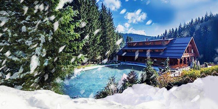SKI & WELLNESS pobyt v Beskydách pre 2-4 osoby na Vianoce alebo Silvester v hoteli Ondrášův dvůr****