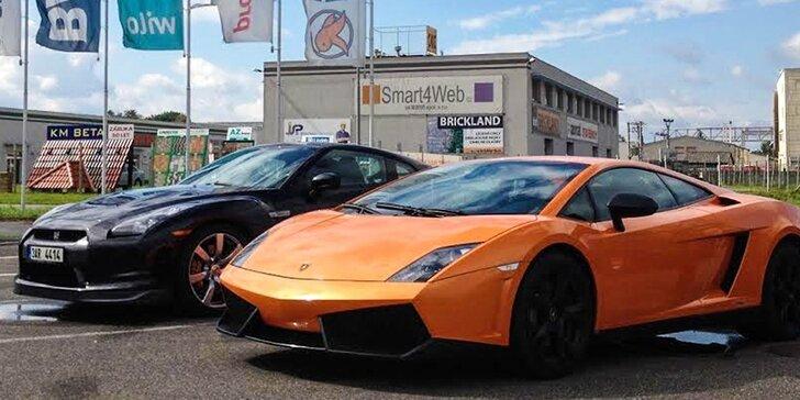Jazda na Lamborghini alebo Nissane ako vodič či spolujazdec