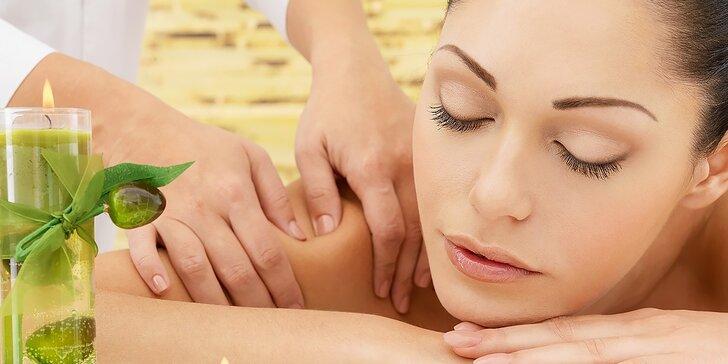 Štyri druhy masáže podľa vlastného výberu a výhodná permanentka