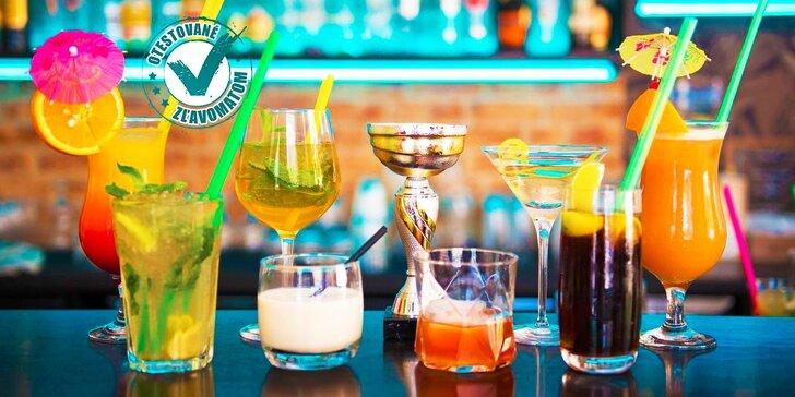 Schlaďte sa vynikajúcimi miešanými alko drinkami alebo osviežujúcimi limonádami v AVE Café!
