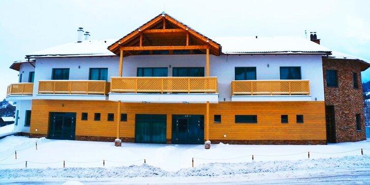 Wellness zimný pobyt v útulnom penzióne v Oravských Beskydách