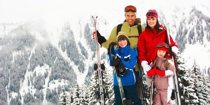 Lyžiarsky pobyt pre celú rodinu aj so skipasmi v prekrásnom horskom prostredí + Dieťa do 12 rokov ubytovanie so skipasom zadarmo