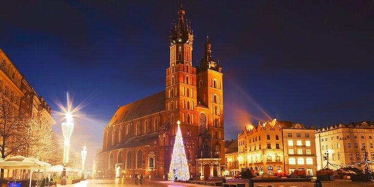 Zimná dovolenka v centre KRAKOVA v hoteli Wyspiański***