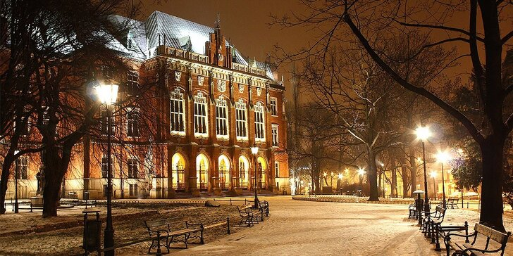 Hotel Amadeus****, 3 alebo 4 dni luxusu v centre Krakova