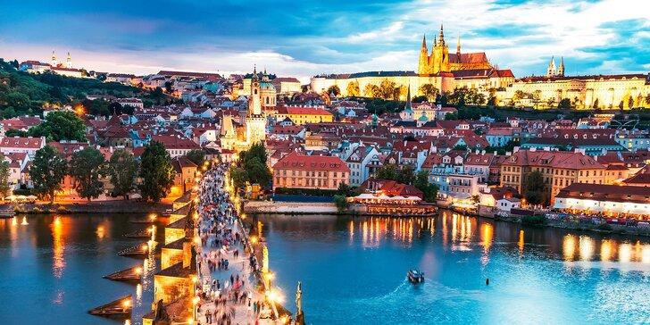 Pohoda, relax a oddych v Prahe pre dvoch
