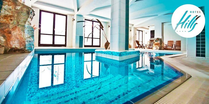Wellness pobyt v luxusnom Hoteli Hills**** s raňajkami