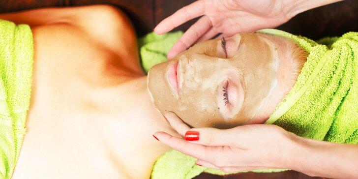 Suchý kúpeľ alebo aztécka hlinená maska
