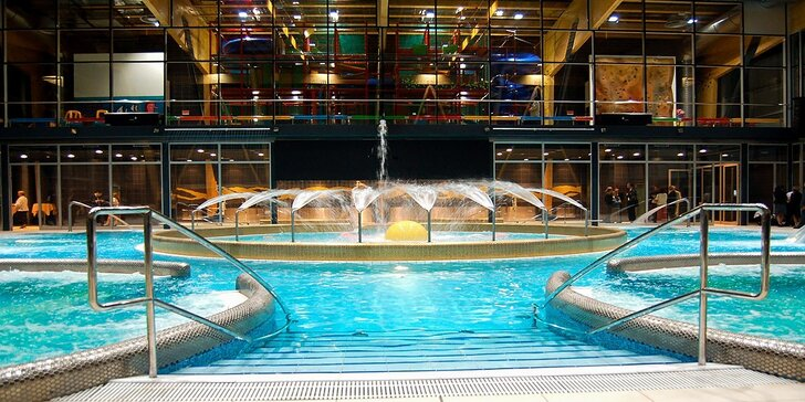Hotel AquaCity Riverside*** so vstupmi do Fire & Water Wellness & Spa Centra