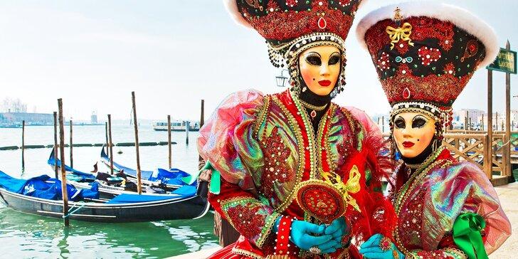Poznávací zájazd do Benátok v čase karnevalu