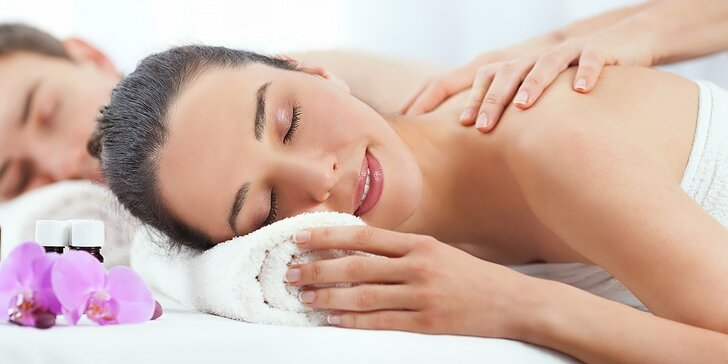 Privátny wellness a masáž pre dvojicu