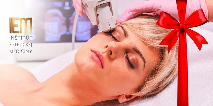 Nechirurgický facelifting čela a okolia očí