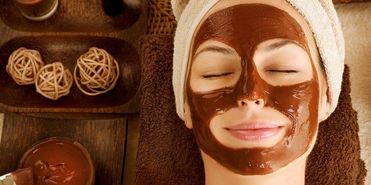 Čokoládová masáž v kozmetickom salóne Lavida