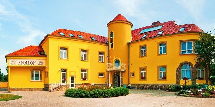 Hotel Apollon*** Kráľovský pobyt vo Valticiach, hlavnom meste vína v Čechách