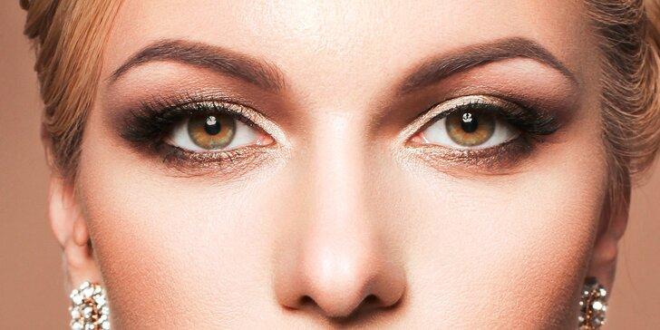 Pravé norkové 7D VOLUME LASHES + úprava obočia nítkovaním (eyebrow threading)