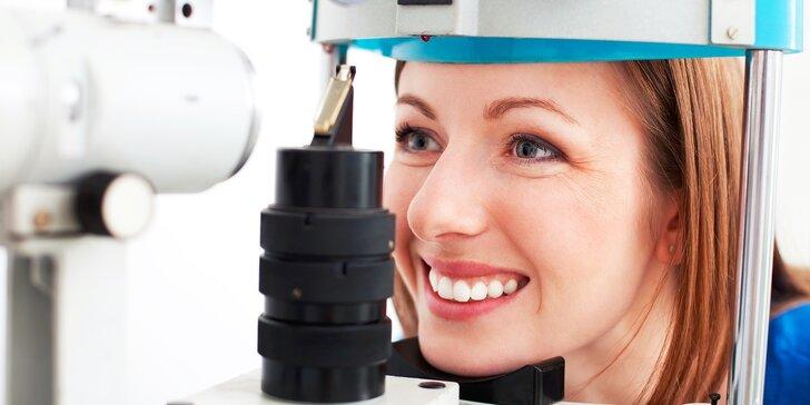 Kompletné očné vyšetrenie