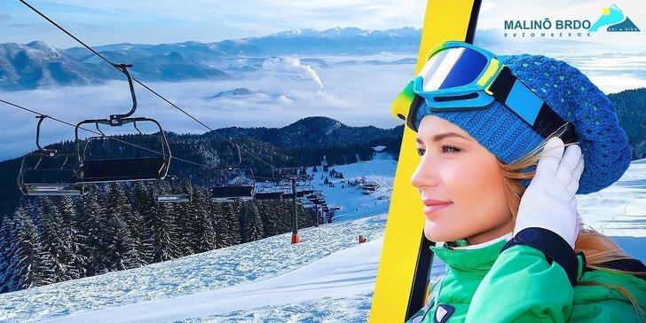 Celodenný skipass do lyžiarského strediska Malinô Brdo