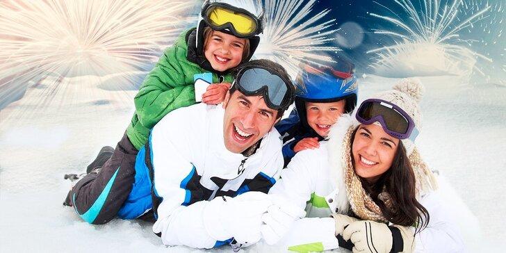 SUPER SILVESTROVSKÁ lyžovačka na Bielých Vodách - skipassy za 1 €!