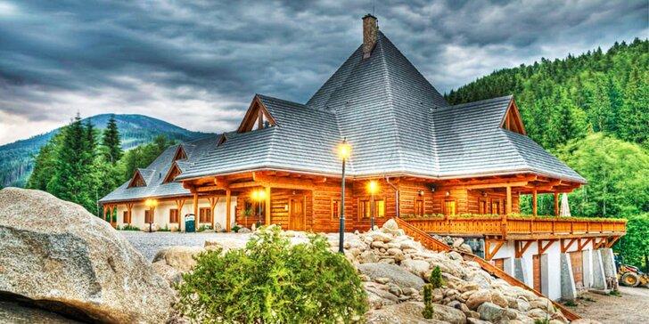 Rodinná dovolenka a lyžovačka s exkluzívnym wellness na južnej strane Chopku v Nízkych Tatrách na Táloch