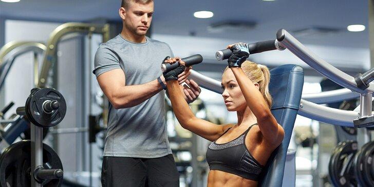 Darujte si novú postavu! 10 hodín s fitness trénerom + jedálniček ako bonus