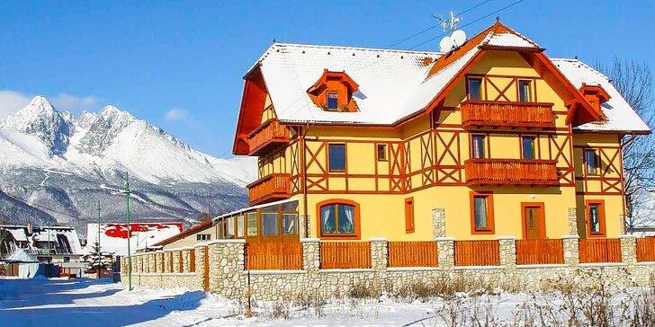 Pobyt na 3-4 dni v príjemnom rodinnom penzióne BAĎO*** priamo pod Lomnickým štítom, dieťa do 4 rokov zdarma!