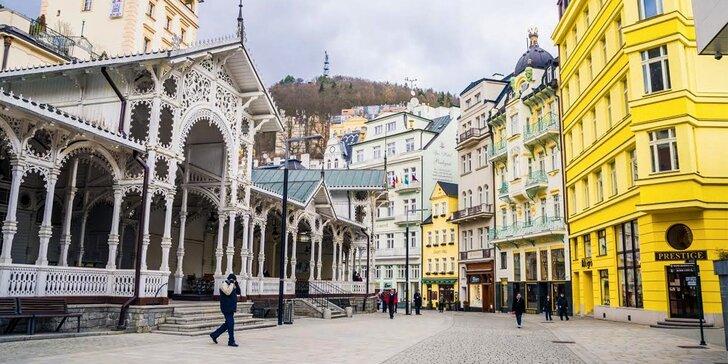 Kúpeľný pobyt v krásnych Karlových Varoch s wellnessom na 3 dni alebo aj so zážitkovým výletom na 5 dní