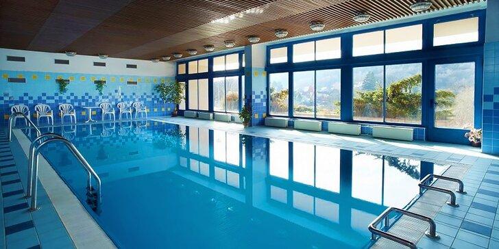 Zimné kúpeľné hýčkanie v hoteli Harmonie*** v Luhačoviciach - skvelé pobyty s polpenziou, bazénom a procedúrami