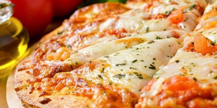 2 veľké pizze podľa výberu Everyday