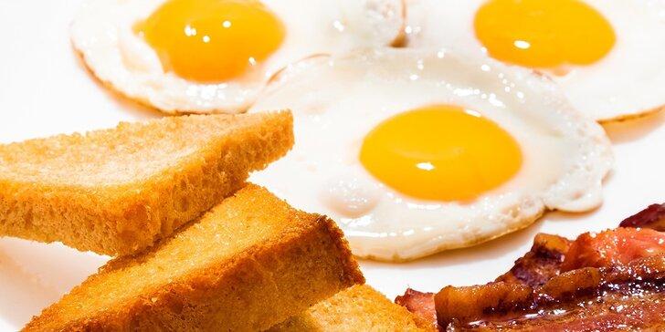 Raňajkové menu pre dvoch v novootvorenej reštaurácii