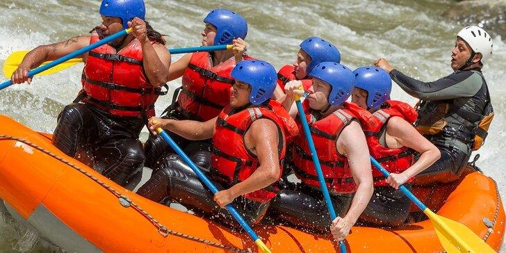 Rafting na umelom vodnom kanáli v Liptovskom Mikuláši s videozáznamom. Leto 2016!