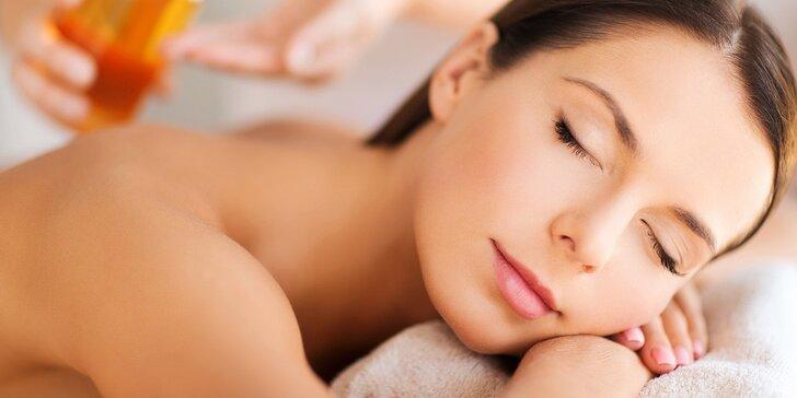 Terapeutická masáž s využitím unikátnych BIO olejov