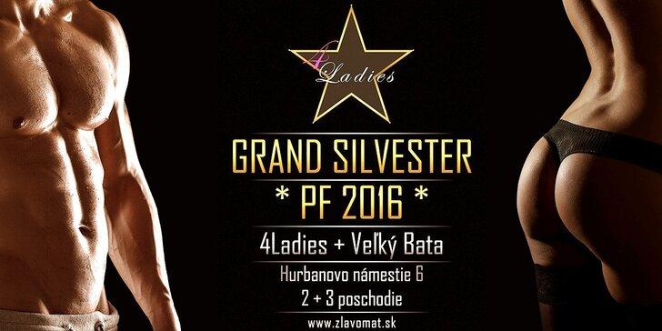 Len na Zľavomate! Silvester v klube 4Ladies, medzinárodný striptíz pre dámy aj pánov, prvotriedne jedlo!