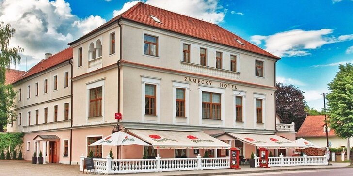 Rozprávkový pobyt v Zámockom hoteli s polpenziou na Vranove