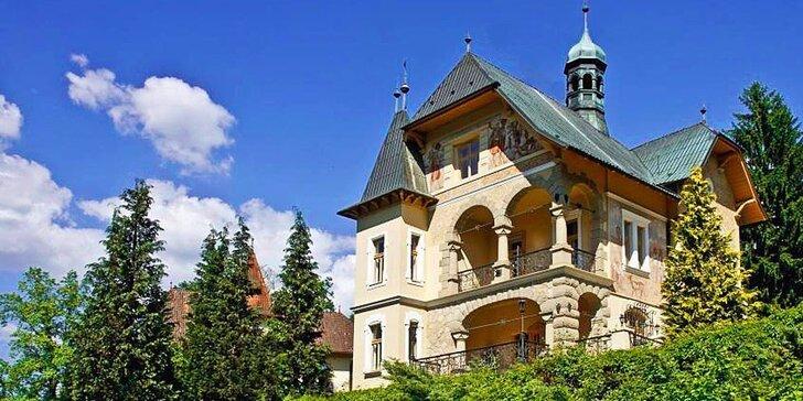 3 - 6 dní relaxácie s polpenziou v Luhačoviciach