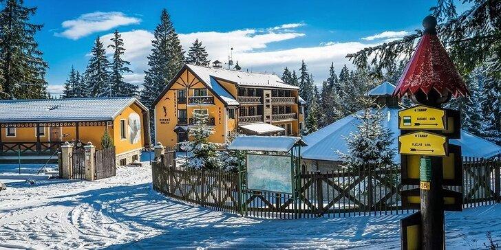 Rodinná lyžovačka s polpenziou a wellness pre 2 osoby v novom horskom hoteli Orešnica***