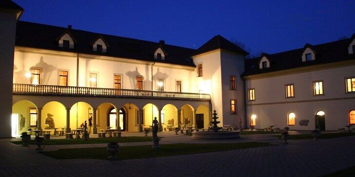 Luxusný víkendový all inclusive pobyt na zámku Kamenný Dvůr