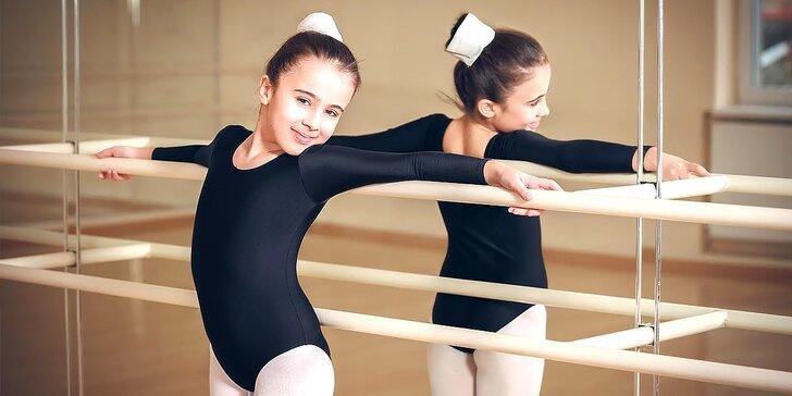 Kurz baletu pre dievčatá a kurz detskej pohybovej prípravy